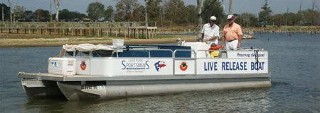live release boat